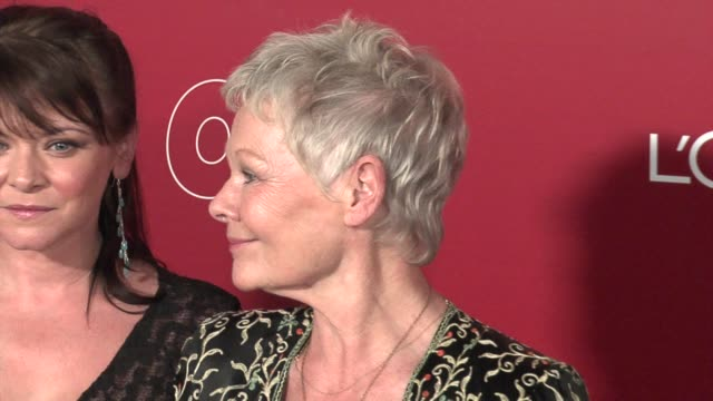 vidéos et rushes de dame judi dench at the 2006 weinstein company preoscar party at the pacific design center in west hollywood california on march 4 2006 - judi dench