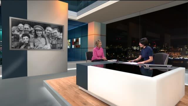 Dame Vera Lynn publishes book of wartime memories Virginia LewisJones LIVE STUDIO interview SOT