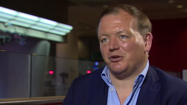 damian collins chairman of the digital culture media and sport committee talking about the prevalence of 'fake news' and how it is used - artificial stock videos & royalty-free footage