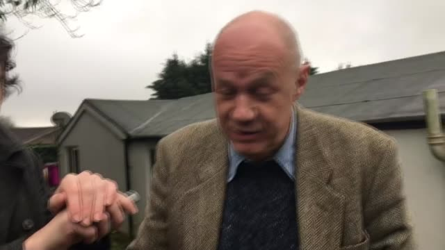 Damian Green denies pornography allegations Kent EXT Damian Green MP along driveway and speaking to reporter SOT I still maintain it is the truth...