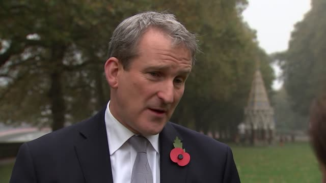 london westminster ext damian hinds mp interview sot re launch of new assessment process for people with disabilities - damian hinds stock videos and b-roll footage