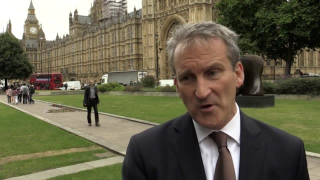 damian hinds minister for work and pensions discusses the latest unemployment figures he touches on the discrepancy between wage increases and... - damian hinds stock videos and b-roll footage