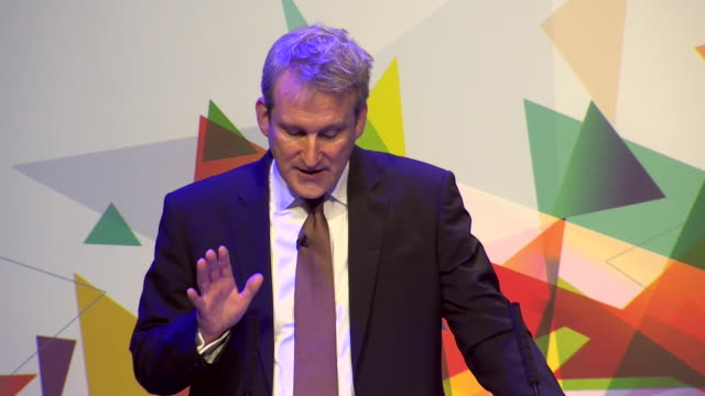 damian hinds mp saying that 'for the rest of this parliament there will be no new additional statutory tests or assessments for primary schools' - damian hinds stock videos and b-roll footage