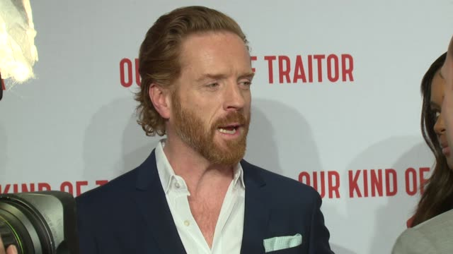BROLL Damian Lewis and Naomie Harris on May 05 2016 in London England