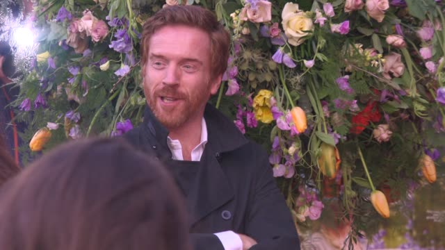 damian lewis at 'a little chaos premiere' at odeon kensington on april 13 2015 in london england - odeon cinemas stock videos & royalty-free footage