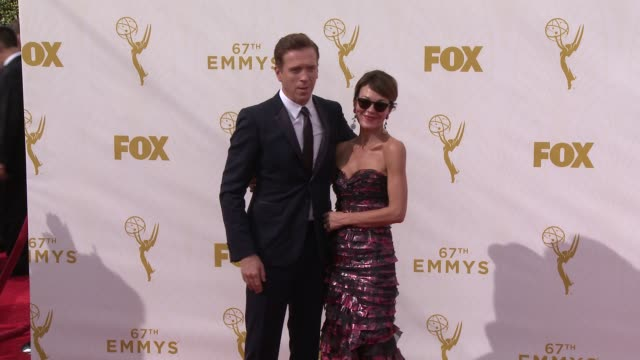 Damian Lewis at the 67th Annual Primetime Emmy Awards at Microsoft Theater on September 20 2015 in Los Angeles California