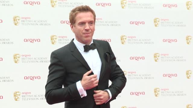 Damian Lewis Helen McCrory at BAFTA TV Awards 2013 5/12/2013 in London UK