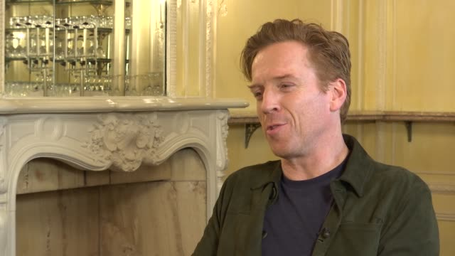London INT Damian Lewis interview SOT