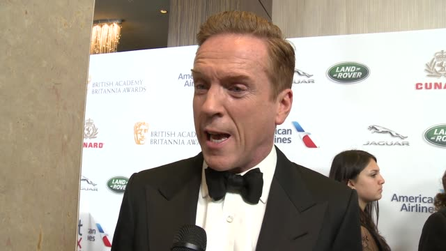 INTERVIEW Damian Lewis on what does it mean to be selected as an honoree at 2018 British Academy Britannia Awards in Los Angeles CA