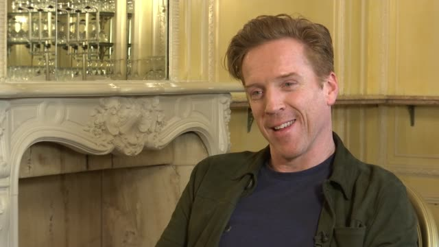 Damian Lewis stars in new West End play Damian Lewis stars in new West End play London INT Lewis interview continues SOT Reporter