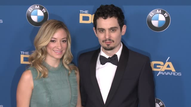 damien chazelle at 69th annual directors guild of america awards in los angeles, ca 2/4/17 - director's guild of america stock videos & royalty-free footage