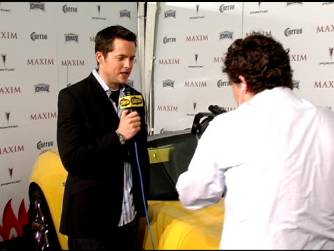 Damien Fahey at the Maxim's 8th Annual Hot 100 Party at Ono at The Gansevoort Hotel in New York New York on May 16 2007