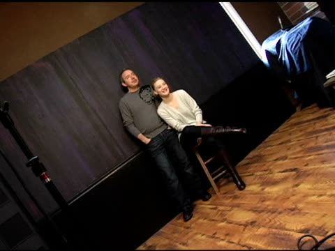 damien o'donnell and romola garai of 'rory o'shea was here' at the 2005 hp portrait studio presented by wireimage at hp portrait studio in park city... - romola garai stock videos & royalty-free footage