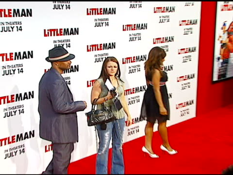 damien wayans at the 'little man' premiere at the mann national theatre in westwood california on july 6 2006 - mann national theater stock videos & royalty-free footage