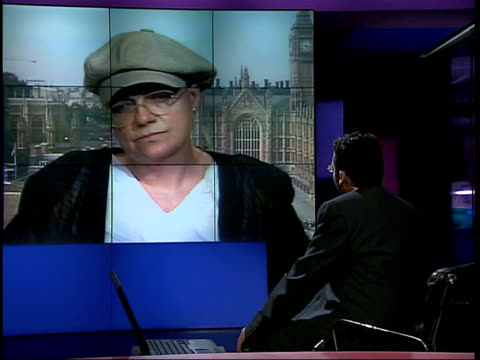 police call for more careful treatment of young witnesses; itn england: london: gir: int fiona mactaggart mp interviewed sot - there are arguments... - tape measure video stock e b–roll