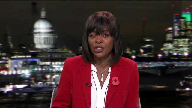 damilola taylor murder: new film by childhood friend; england: london: gir: reporter to camera - itv london tonight stock-videos und b-roll-filmmaterial