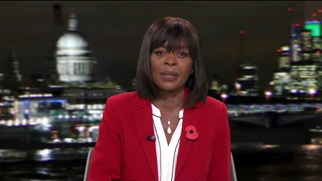 damilola taylor murder: new film by childhood friend; england: london: gir: int reporter to camera - itv london tonight stock-videos und b-roll-filmmaterial