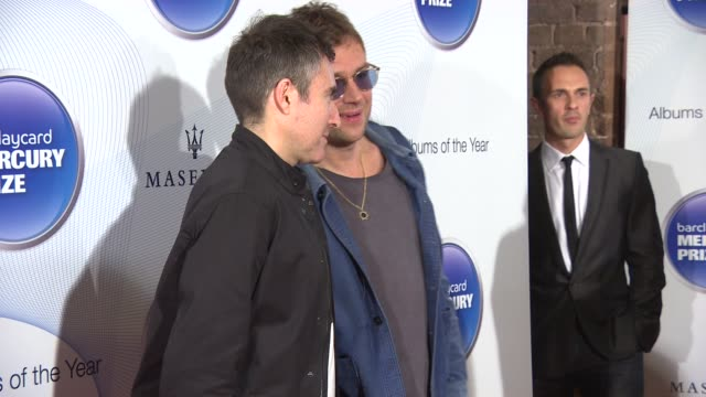 Damon Albarn at Barclaycard Mercury Prize on October 29 2014 in London England