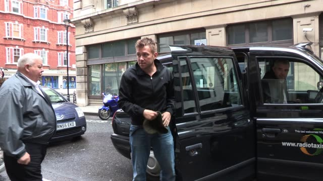 Damon Albarn sighted outside the studios where he took part in 2DAY 2012 SIGHTED Damon Albarn at BBC Radio Two Gildea Street on May 10 2012 in London...