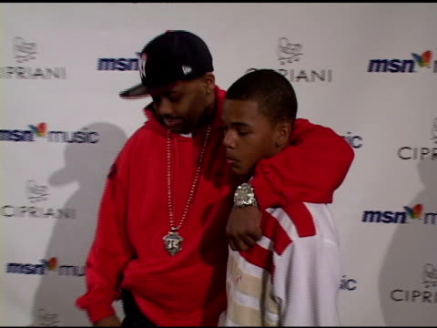damon dash and guest at the mariah carey record release party on april 21 2005 - mariah carey stock videos and b-roll footage