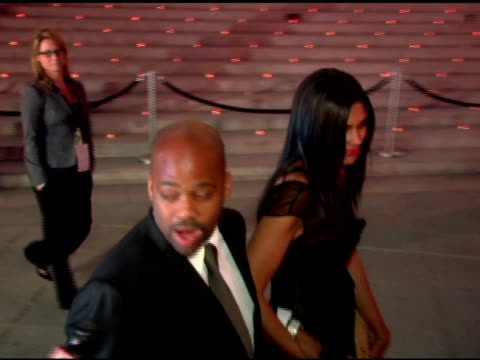 Damon Dash and Rachel Roy at the 2006 Tribeca Film Festival Vanity Fair Party at State Supreme Courthouse in New York New York on April 26 2006