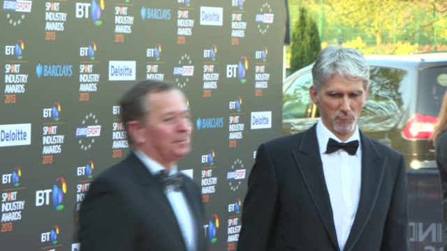 Damon Hill at BT Sport Industry Awards at Battersea Evolution on May 02 2013 in London England