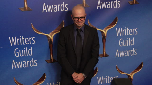 damon lindelof at the 2020 writers guild awards at the beverly hilton hotel on february 01, 2020 in beverly hills, california. - the beverly hilton hotel stock videos & royalty-free footage