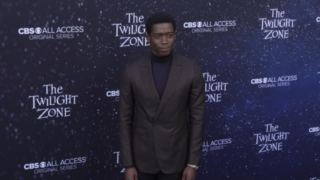 "damson idris at the premiere of ""the twilight zone' at the harmony gold preview house and theater on march 26, 2019 in hollywood, california. - harmony gold preview theatre stock videos & royalty-free footage"