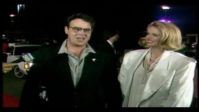Dan Aykroyd with wife Donna Dixon talks about the film after seeing the premiere