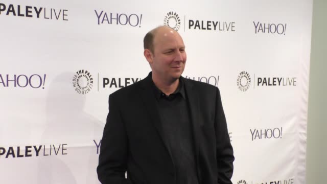 dan bakkedahl at the paleylive an evening with life in pieces at the paley center for media in beverly hills at celebrity sightings in los angeles on... - paley center for media los angeles stock videos & royalty-free footage