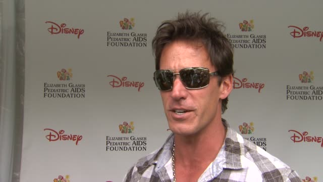 Dan Cortese on how he feels to be at the 22nd Annual Time for Heroes Celebrity Picnic if this is his first time attending why he wanted to come and...