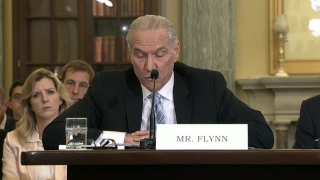 Dan Flynn CEO and Secretary General of the US Soccer Federation tells a senate commerce subcommittee that the United States soccer organization...