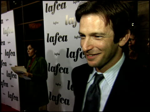 dan futterman at the 2006 lafca los angeles film critic's association awards at park hyatt in century city, california on january 17, 2006. - critic stock videos & royalty-free footage