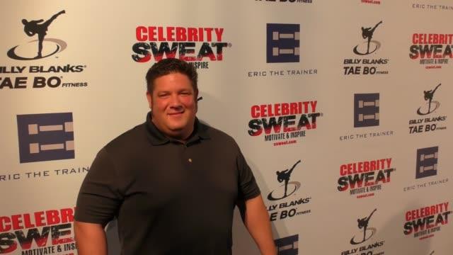 vídeos y material grabado en eventos de stock de dan kalbfleisch at the 13th annual celebrity sweat espys after party on july 12, 2017 in los angeles, california. - premios espy