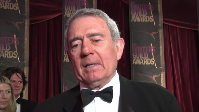 dan rather on the writing in good night and good luck was superb and had some of the most authentic newsroom scenes and on how important it is for... - hollywood palladium stock videos & royalty-free footage