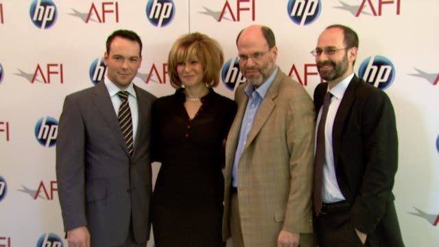 vídeos de stock, filmes e b-roll de dana brunetti co chairman sony pictures entertainment and chairman sony pictures motion group amy pascal and scott rudin at the 2010 afi awards at... - sony pictures entertainment