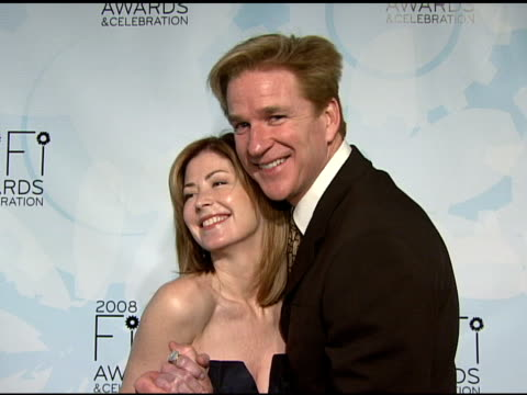 Dana Delaney and Matthew Modine at the Fragrance Foundation Presents 36th Annual FiFi Awards and Celebration at the Park Avenue Armory in New York...