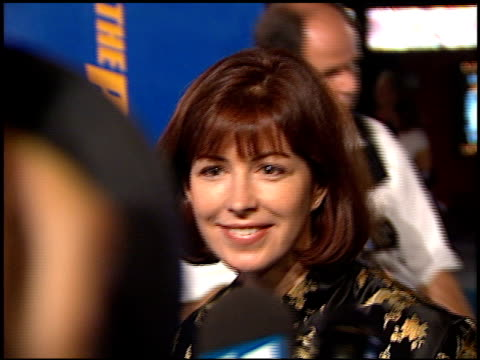 Dana Delaney at the 'Peacemaker' Premiere at Grauman's Chinese Theatre in Hollywood California on September 23 1997