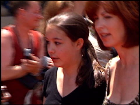 Dana Delaney at the Premiere of 'The Princess Diaries' at the El Capitan Theatre in Hollywood California on July 29 2001