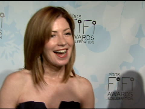 Dana Delaney talking about the importance of fragrance being at the FiFi Awards and 'Desperate Housewives' at the Fragrance Foundation Presents 36th...