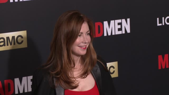 Dana Delany at AMC Celebrates The Final Season of 'Mad Men' With Black Red Ball at Dorothy Chandler Pavilion on March 25 2015 in Los Angeles...