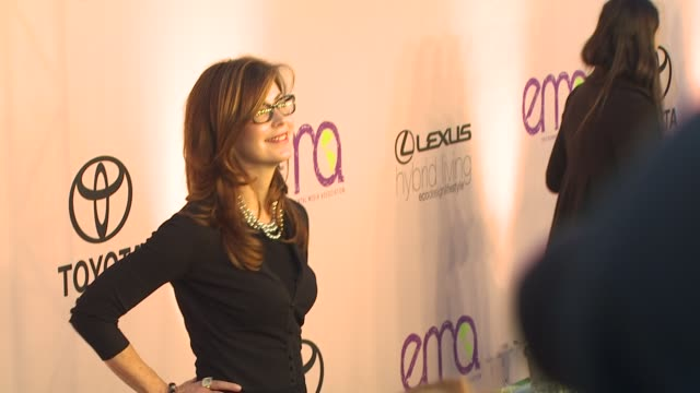 dana delany at the 2009 environmental media awards at los angeles ca. - environmental media awards stock videos & royalty-free footage