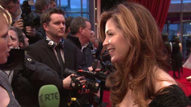 Dana Delany at the IFTAs at Convention Centre Dublin Ireland on February 11th 2012