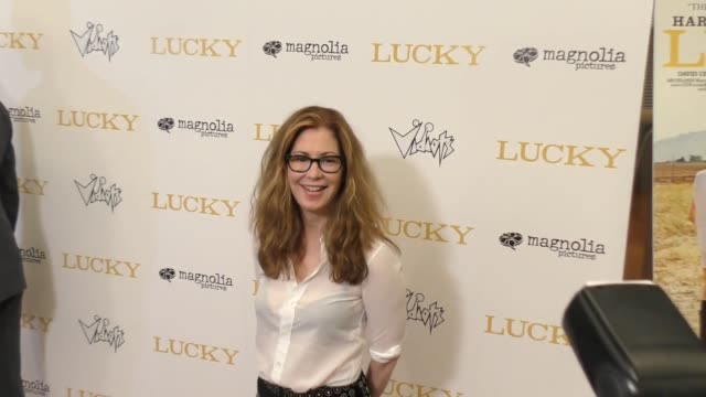 Dana Delany at the Los Angeles premiere of 'Lucky' on September 26 2017 in Hollywood California