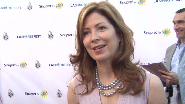 Dana Delany on her short film that's in the festival what she appreciates about the festival if directing is in her future what she's most looking...