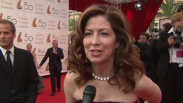 Dana Delany on the mood of the festival the most memorable part for her seeing the Prince and being excited for tonight at the 50th Monte Carlo TV...