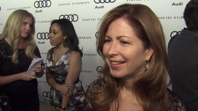 Dana Delany on why she wanted to kickoff Emmy week with Audi what she is most looking forward to this evening her favorite television shows and if...