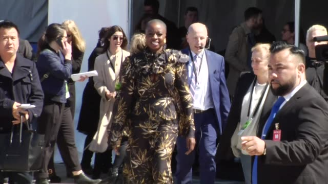 danai gurira arriving to the 33rd independent spirit awards in santa monica at celebrity sightings in los angeles on march 03 2018 in los angeles... - danai gurira stock videos and b-roll footage