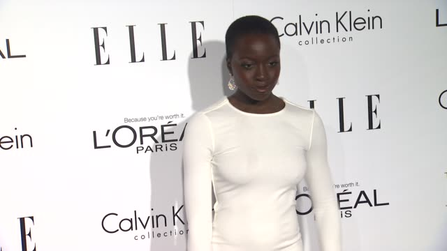 danai gurira at 19th annual elle women in hollywood celebration on in beverly hills ca - danai gurira stock videos and b-roll footage