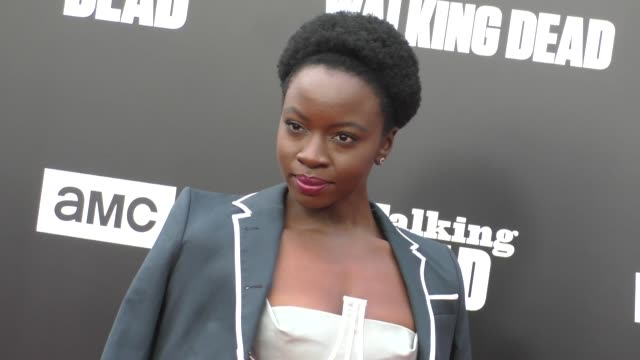 Danai Gurira at AMC presents 'Talking Dead Live' for the premiere of 'The Walking Dead' on October 23 2016 in Hollywood California
